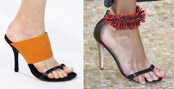97f6656d995 Παπούτσια Άνοιξη / Καλοκαίρι 2019: Τα κορυφαία σχέδια και χρώματα