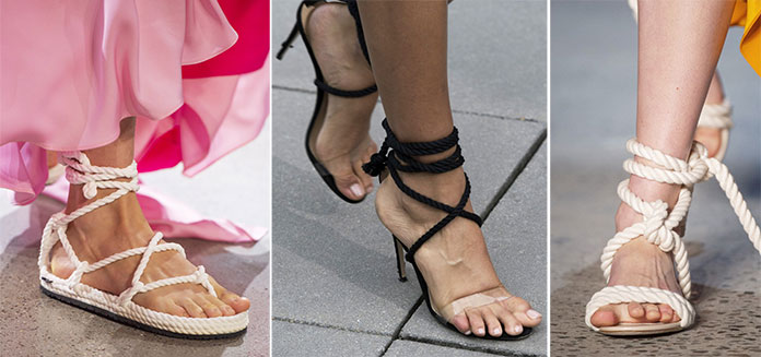 59b5126b7d Παπούτσια Άνοιξη   Καλοκαίρι 2019  Τα κορυφαία σχέδια και χρώματα