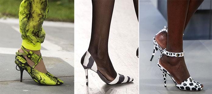 4f6dc526010 Παπούτσια Άνοιξη / Καλοκαίρι 2019: Τα κορυφαία σχέδια και χρώματα