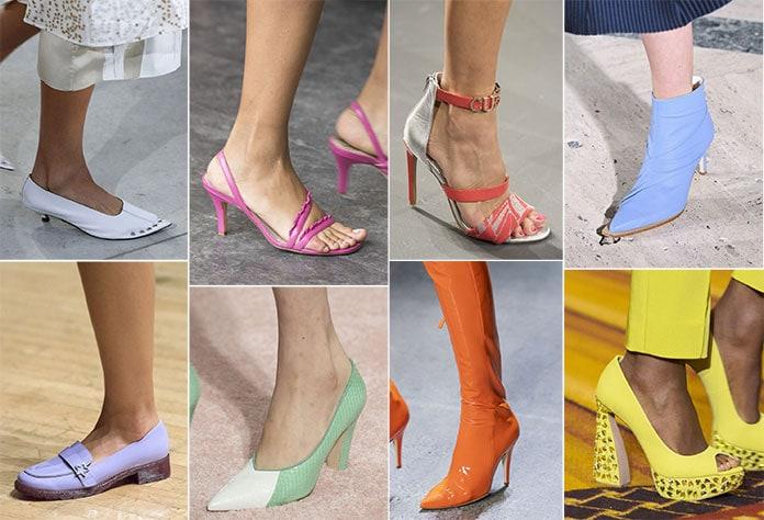 50c9c82bd6b Παπούτσια Άνοιξη / Καλοκαίρι 2019: Τα κορυφαία σχέδια και χρώματα