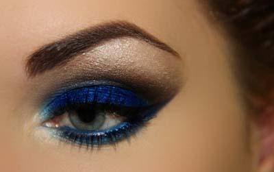 Μπλε μακιγιάζ ματιών (7)