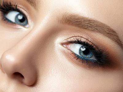 Μπλε μακιγιάζ ματιών (18)