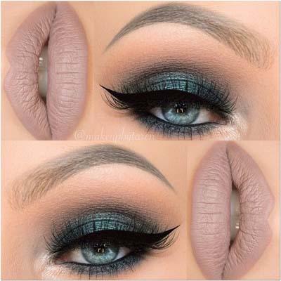 Μπλε μακιγιάζ ματιών (20)