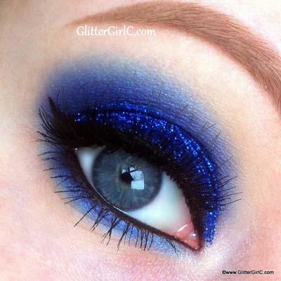 Μπλε μακιγιάζ ματιών (21)