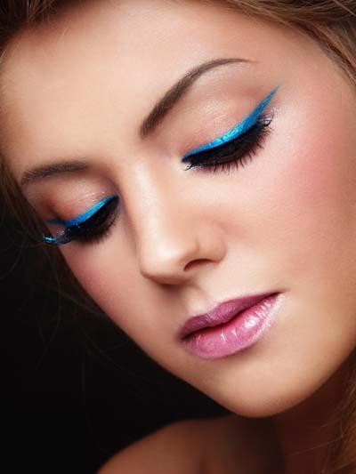 Μπλε μακιγιάζ ματιών (11)
