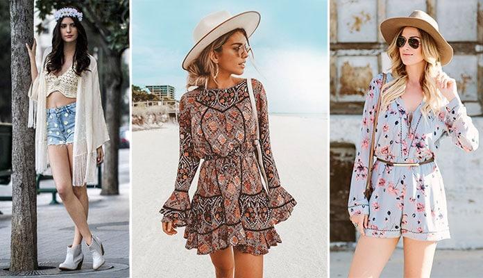 79bacebd499d Μυστικά και ιδέες για τέλειο boho style ντύσιμο με τα κατάλληλα ρούχα