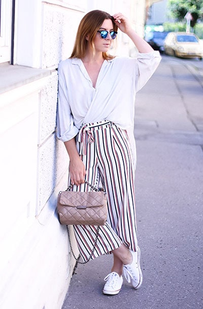 Casual και street style ντύσιμο με zip culotte (3)