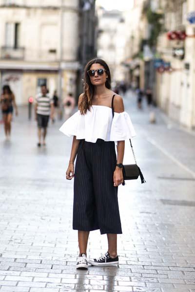 Casual και street style ντύσιμο με zip culotte (6)