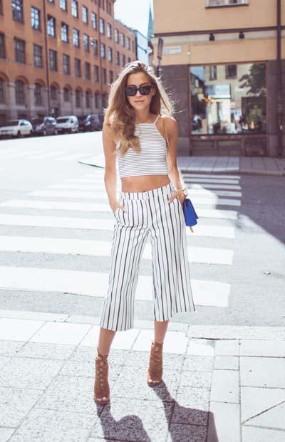 Casual και street style ντύσιμο με zip culotte (7)