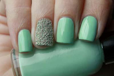 Εντυπωσιακά σχέδια για φυστικί νύχια (3)