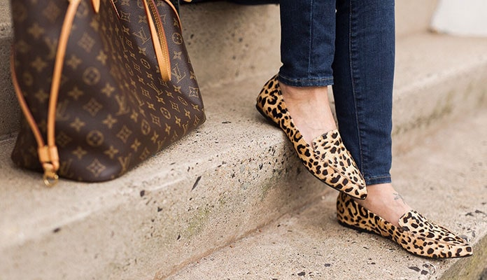 300f92a986b Ιδανικοί συνδυασμοί με λεοπάρ παπούτσια + 40 τέλεια ζευγάρια για αγορά