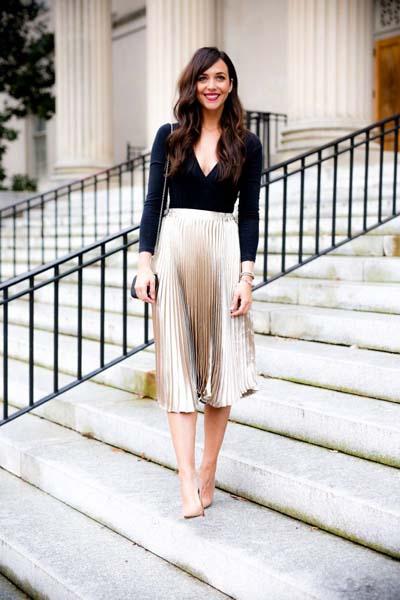 884eae69cad7 Πώς να φορέσεις την αγαπημένη σου πλισέ φούστα – 30 τέλειοι ...