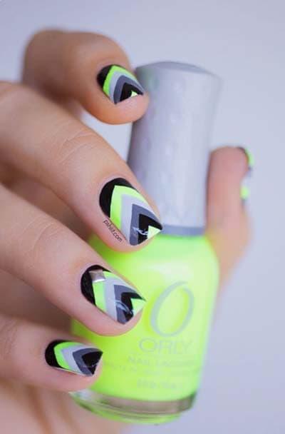 Πράσινα νύχια σε διάφορες αποχρώσεις (5)