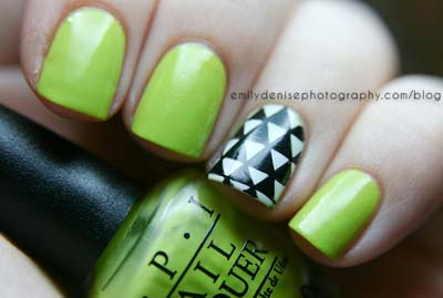 Πράσινα νύχια σε διάφορες αποχρώσεις (8)