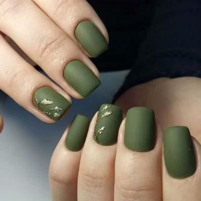 Πράσινα νύχια σε διάφορες αποχρώσεις (11)