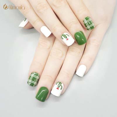Πράσινα νύχια σε διάφορες αποχρώσεις (13)