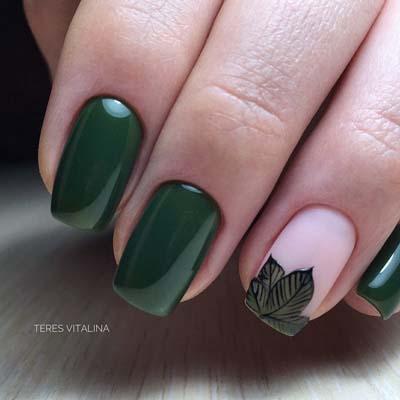 Όμορφες παραλλαγές για σμαραγδί σχέδια νύχιων (2)