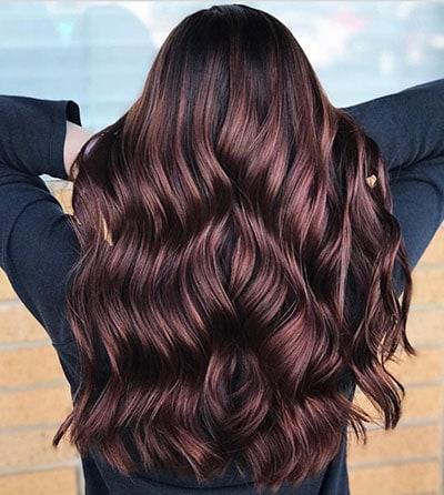 Ανταύγειες σε μαύρα μαλλιά (2)