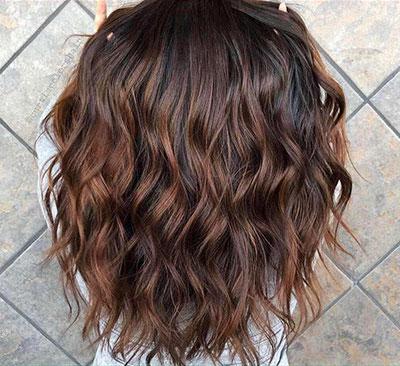 Ανταύγειες σε μαύρα μαλλιά (3)