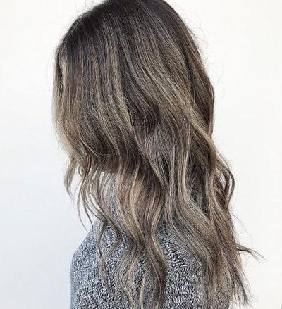 Ανταύγειες σε μαύρα μαλλιά (5)
