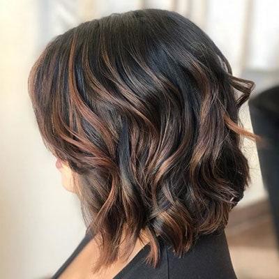 Ανταύγειες σε μαύρα μαλλιά (10)