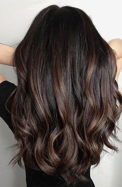 Ανταύγειες σε μαύρα μαλλιά (15)
