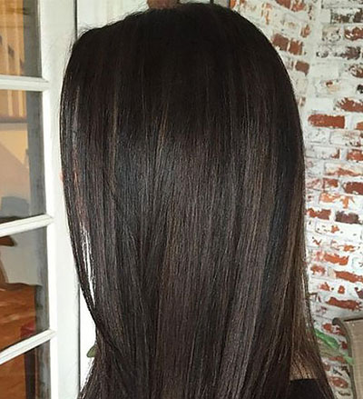 Ανταύγειες σε μαύρα μαλλιά (18)