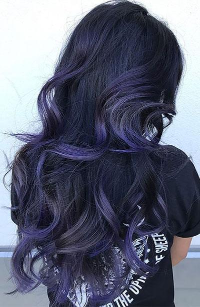 Ανταύγειες σε μαύρα μαλλιά (20)