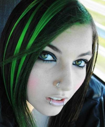 Ανταύγειες σε μαύρα μαλλιά (26)