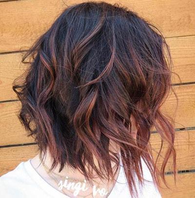 Ανταύγειες σε μαύρα μαλλιά (30)