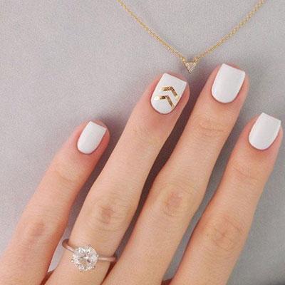 Άσπρα νύχια για εντυπωσιακά καλοκαιρινά σχέδια μανικιούρ (4)