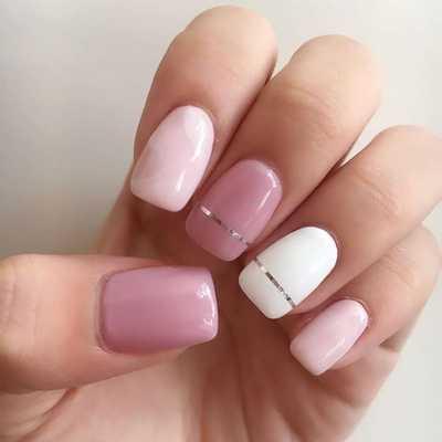 Διακριτικά σχέδια στα νύχια το καλοκαίρι (3)