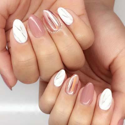 Nude σχέδια στα νύχια για το καλοκαίρι (3)