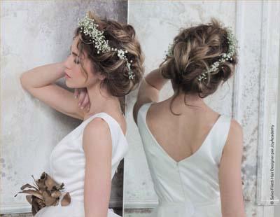 Χτενίσματα με στεφάνι για μακριά μαλλιά νύφης (5)