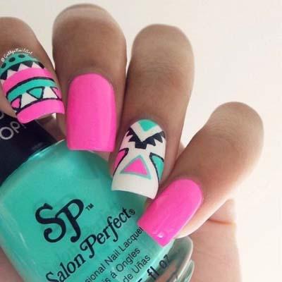 Ιδέες για εντυπωσιακά καλοκαιρινά σχέδια στα νύχια (3)