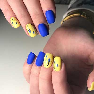 Ιδέες για εντυπωσιακά καλοκαιρινά σχέδια στα νύχια (9)