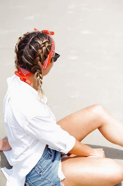 Χτενίσματα με μπαντάνα στα μαλλιά (1)