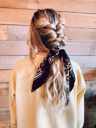 Χτενίσματα με μπαντάνα στα μαλλιά (7)