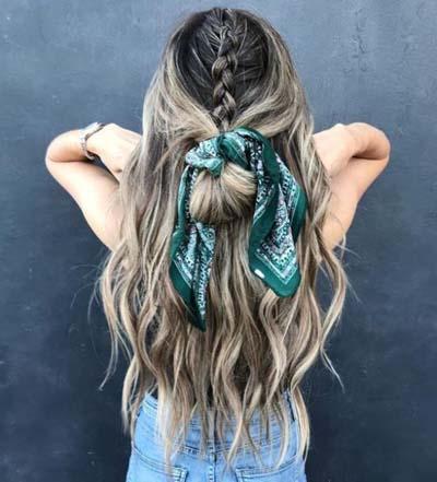 Χτενίσματα με μπαντάνα στα μαλλιά (13)