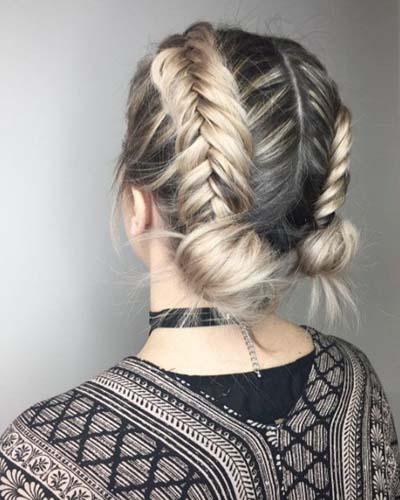 Space buns - Κεφτεδάκια στα μαλλιά (3)