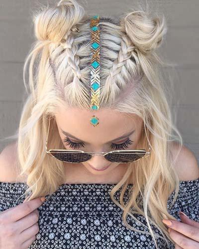 Space buns - Κεφτεδάκια στα μαλλιά (4)
