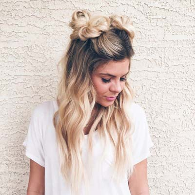 Space buns - Κεφτεδάκια στα μαλλιά (5)