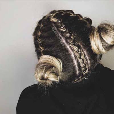 Space buns - Κεφτεδάκια στα μαλλιά (7)