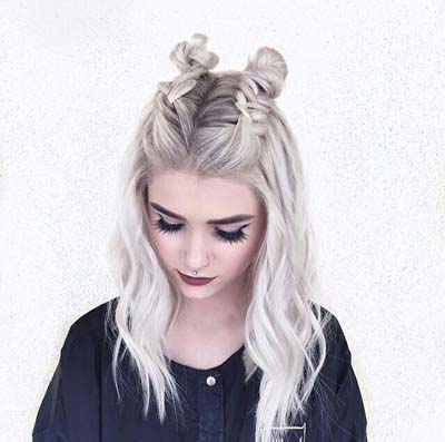 Space buns - Κεφτεδάκια στα μαλλιά (9)