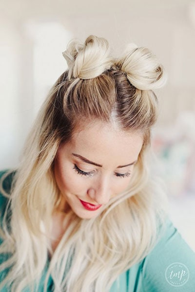 Space buns: Πως να κάνεις τα μαλλιά κεφτεδάκια - Οι trendy ...