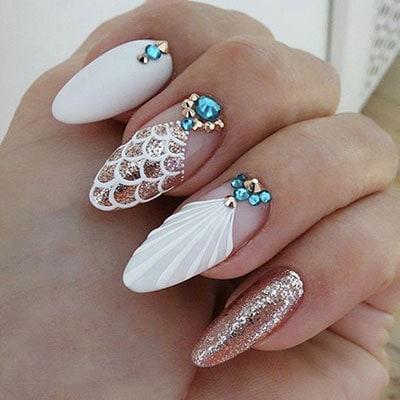 Νύχια λευκά γοργονέ (3)
