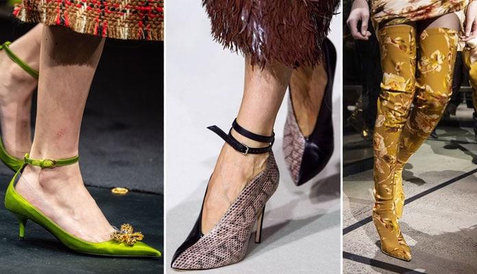 Παπούτσια Φθινόπωρο / Χειμώνας 2019 - 2020