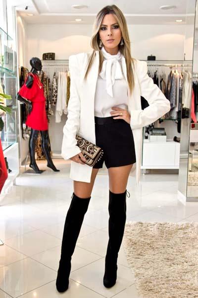 Συνδυασμοί για ντύσιμο με άσπρο σακάκι (2)