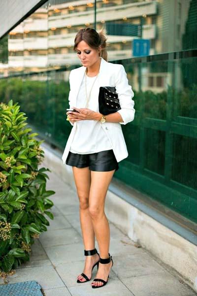 Συνδυασμοί για ντύσιμο με άσπρο σακάκι (4)