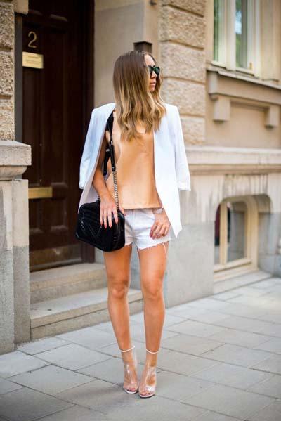 Συνδυασμοί για ντύσιμο με άσπρο σακάκι (7)